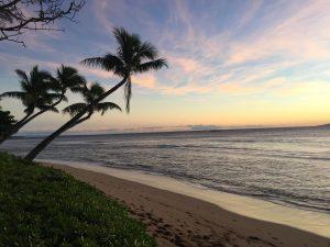 remote beach on Molokai, Hawaii