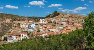 Monterde in Aragon, Spain