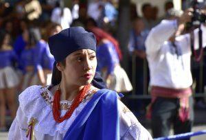 The Festival Pilar in Zaragoza, Spain