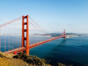 Golden Gate Bridge, San Francisco: most photographed places in the world