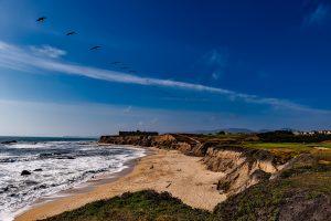 Half Moon Bay in the Bay Area, California