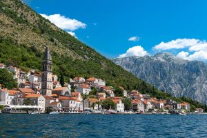 Montenegro, one of the cheapest countries to travel to in 2020.