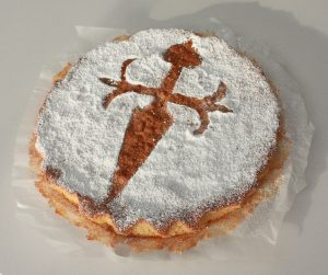 Tarta Santiago, best things to eat in Galicia, Spain