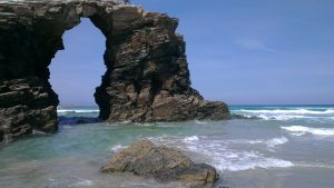 The Ribadeo Arch, the best things to do in Galicia, Spain