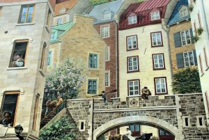 Quebec City is one of the most romantic valentine's day vacation spots in the world