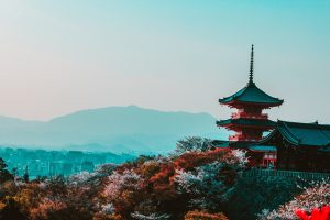 Kyoto, Japan: most romantic valentine's day getaways