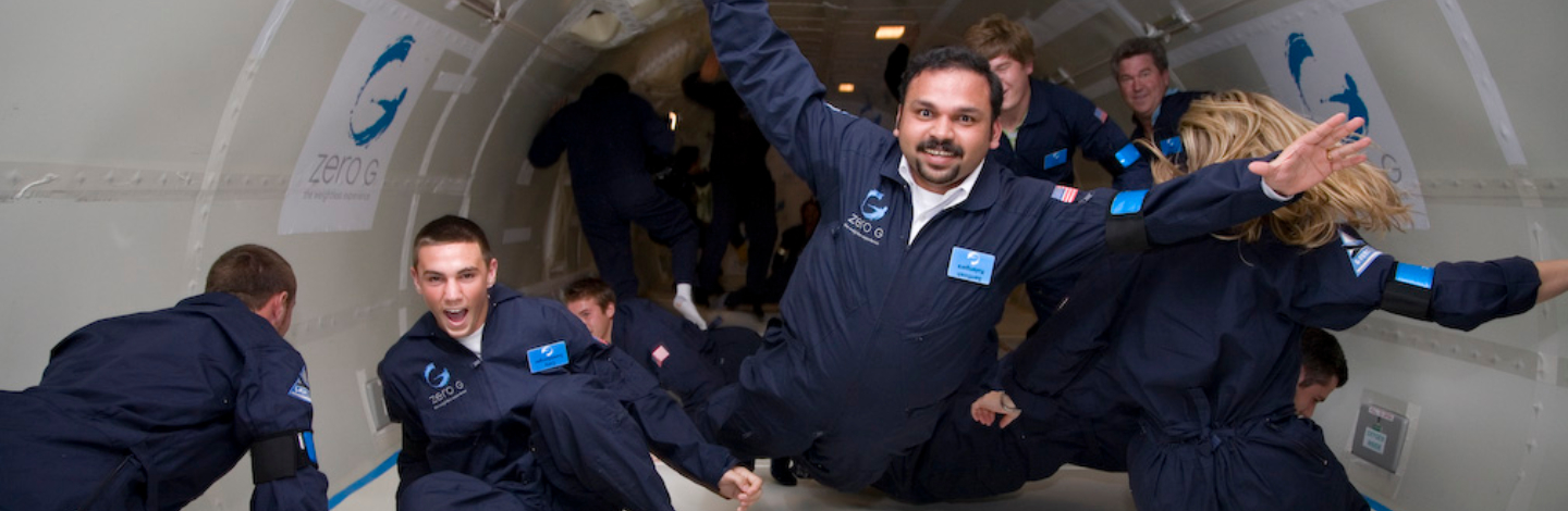 Zero Gravity Flights Are About To Become A Thing