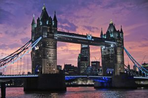 Tower Bridge: most photographed places in the world